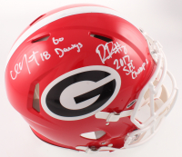 "Riley Ridley Signed Georgia Bulldogs Full-Size Speed Helmet Inscribed ""Go Dawgs"" & ""2017 SEC Champs"" (JSA COA) at PristineAuction.com"