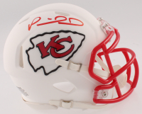 Patrick Mahomes Signed Chiefs Matte White Speed Mini Helmet (JSA COA) at PristineAuction.com