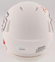 Patrick Mahomes Signed Chiefs Matte White Speed Mini Helmet (JSA COA) at PristineAuction.com