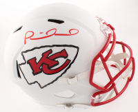 Patrick Mahomes Signed Chiefs Full-Size Matte White Speed Helmet (JSA COA) at PristineAuction.com