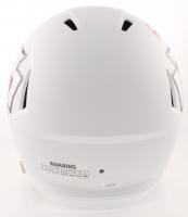 Patrick Mahomes Signed Chiefs Full-Size Matte White Speed Helmet (JSA COA) at PristineAuction.com