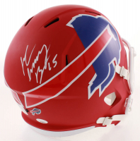 "John ""Smokey"" Brown Signed Bills Full-Size AMP Alternate Speed Helmet (JSA COA) at PristineAuction.com"
