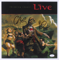 """Live"" 12x12 Photo Signed by Chad Taylor, Patrick Dahlheimer, Chad Gracey & Ed Kowalczyk (JSA COA) at PristineAuction.com"