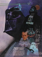 "Vintage 1977 ""Star Wars"" Darth Vader 18x24 Coca-Cola Promotional Poster at PristineAuction.com"