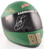 "Dale Earnhardt Jr. Signed NASCAR Mountain Dew ""Dewshine"" Full-Size Helmet (JSA COA) at PristineAuction.com"