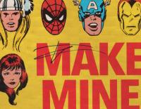 """Tom Holland Signed """"Make Mine Marvel"""" 22x34 Poster (JSA COA) at PristineAuction.com"""