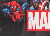 Tom Holland Signed Marvel 22x34 Poster (JSA COA) at PristineAuction.com