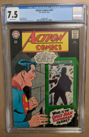 "1967 ""Action Comics"" Issue #355 DC Comic Book (CGC 7.5) at PristineAuction.com"
