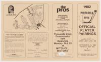 Gerald Ford, & George Lindsey Signed 1982 Pensacola Open Golf Program (JSA COA) at PristineAuction.com