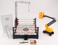 WWE Wrestling Ring Signed by (25) with Sara Logan, Alexa Bliss, Sheamus, Roman Reigns, Rey Mysterio (JSA ALOA) at PristineAuction.com