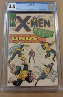 "1964 ""X-Men"" Issue #8 Marvel Comic Book (CGC 3.5) at PristineAuction.com"