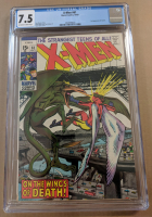"1969 ""X-Men"" Issue #61 Marvel Comic Book (CGC 7.5) at PristineAuction.com"