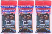 Lot of (3) 2019-20 Panini Prizm Basketball Cello Packs of (15) Card Each - 3 RWB Prizms Each! at PristineAuction.com