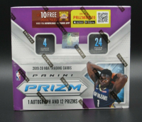 2019-20 Panini Prizm Basketball Retail Box of (24) Packs - 1 Auto and 12 Prizms! at PristineAuction.com