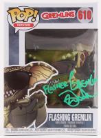 """Mark Dodson Signed """"Gremlins"""" Flashing Gremlin #610 Funko Pop! Vinyl Figure Inscribed """"Flasher Gremlin"""" (Legends COA) at PristineAuction.com"""