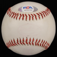 Phil Niekro Signed Baseball with High Quality Display Case & Braves Pin (PSA COA) at PristineAuction.com