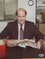 """Brian Baumgartner Signed """"The Office"""" 8.5x11 Photo (Beckett COA) at PristineAuction.com"""