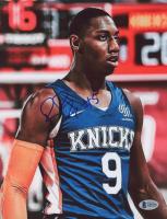 RJ Barrett Signed Knicks 8.5x11 Photo (Beckett COA) at PristineAuction.com
