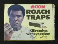 Muhammad Ali Signed Vintage d-Con Roach Traps Box (JSA LOA) at PristineAuction.com
