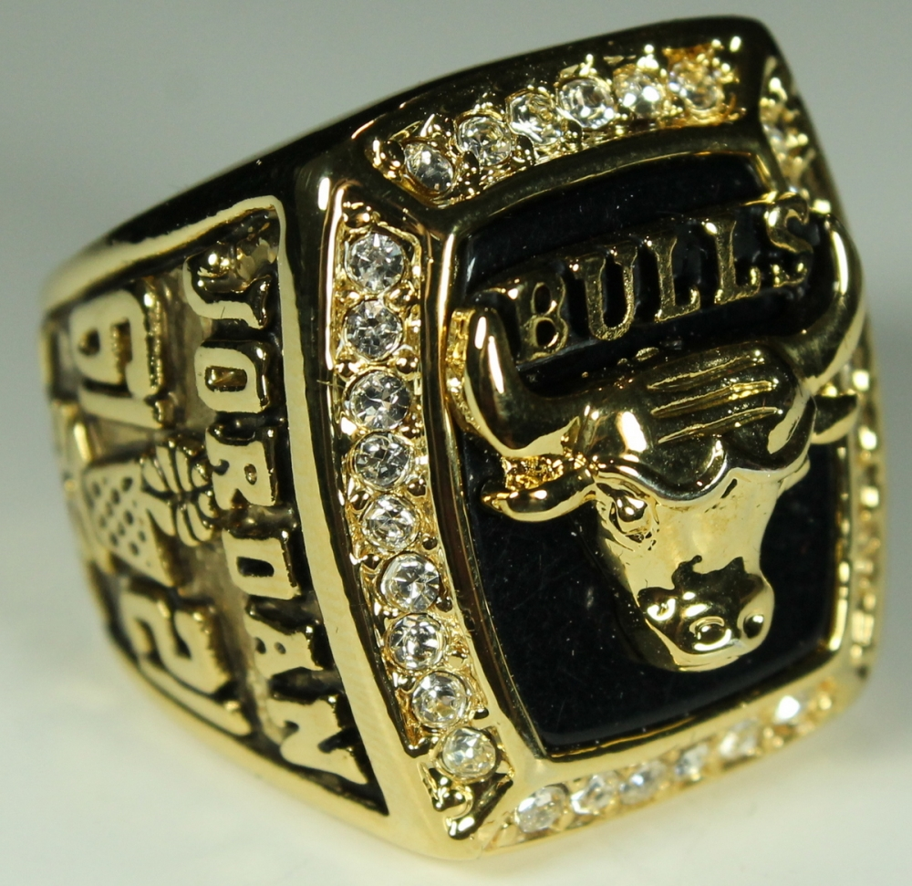 4ee544ade177c5 Michael Jordan Chicago Bulls High Quality Replica 1991 NBA World Champions  Ring at PristineAuction.com