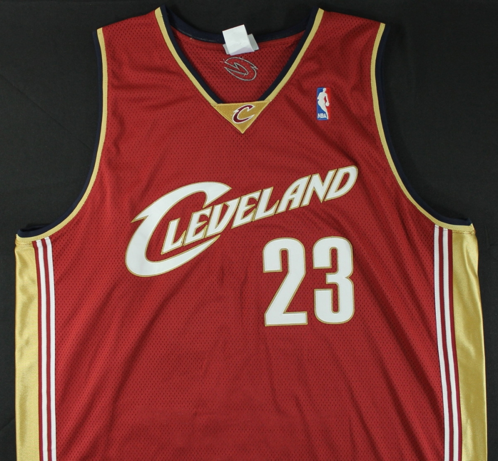 lebron james rookie jersey