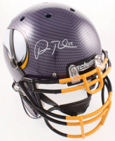 Adam Thielen Signed Vikings Full-Size Authentic On-Field Hydro-Dipped Helmet (Beckett COA) at PristineAuction.com