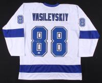 Andrei Vasilevskiy Signed Lightning Jersey (JSA COA) at PristineAuction.com