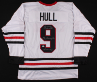 """Bobby Hull Signed Jersey Inscribed """"The Golden Jet"""" & """"HOF 1983"""" (PSA COA) at PristineAuction.com"""