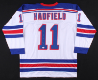 """Vic Hadfield Signed Jersey Inscribed """"50th Goal"""" & """"4 / 2 / 72"""" (JSA COA) at PristineAuction.com"""