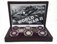 World War II (8) Country Coin Set at PristineAuction.com
