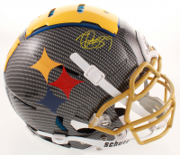 Minkah Fitzpatrick Signed Steelers Full-Size Authentic On-Field Hydro Dipped F7 Helmet (Beckett COA) at PristineAuction.com
