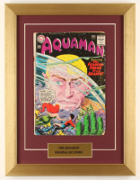 "Vintage 1965 ""Aquaman"" Issue #21 13x17 Custom Framed DC Comic Book at PristineAuction.com"