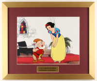 "Walt Disney's ""Snow White and the Seven Dwarfs"" 16x19 Custom Framed Animation Serigraph Display at PristineAuction.com"