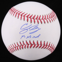 "Cody Bellinger Signed OML Baseball Inscribed ""19 NL MVP"" (MLB Hologram) at PristineAuction.com"