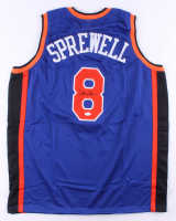 Latrell Sprewell Signed Jersey (JSA COA) at PristineAuction.com