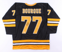 Phil Bourque Signed Jersey (JSA COA) at PristineAuction.com