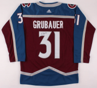 Philipp Grubauer Signed Avalanche Jersey (JSA COA) at PristineAuction.com