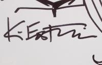 Kevin Eastman Teenage Mutant Ninja Turtles Signed Original Hand-Drawn Sketch on 11x14 Canvas (PA COA) at PristineAuction.com