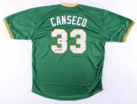 "Jose Canseco Signed Jersey Inscribed ""40/40"" (JSA Hologram) at PristineAuction.com"