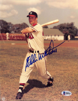 Eddie Mathews Signed Braves 8x10 Photo (Beckett COA) at PristineAuction.com