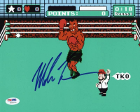 "Mike Tyson Signed ""Punch-Out!!"" 8x10 Photo (PSA COA) at PristineAuction.com"