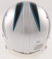 Julius Peppers Signed Panthers Mini Helmet (JSA COA) at PristineAuction.com