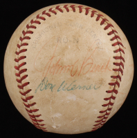 Vintage Baseball Signed by (5) with Johnny Bench, Don Werner, Larry Shepard (JSA COA) at PristineAuction.com