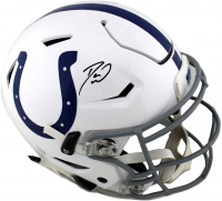 Darius Leonard Signed Colts Full-Size Authentic On-Field SpeedFlex Helmet (Radtke COA) at PristineAuction.com