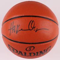 Hakeem Olajuwon Signed NBA Game Ball Series Basketball (JSA COA) at PristineAuction.com