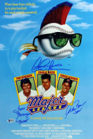 "Charlie Sheen, Tom Berenger & Corbin Bernsen Signed ""Major League"" 12x18 Photo Inscribed ""Dorn"" & ""Taylor"" (Beckett COA) at PristineAuction.com"
