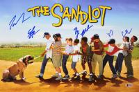 """The Sandlot"" 12x18 Photo Cast-Signed by (6) With Tom Guiry, Marty York, Shane Obedzinski, Victor DiMattia, Chauncey Leopard & Brandon Adams (Beckett COA) at PristineAuction.com"
