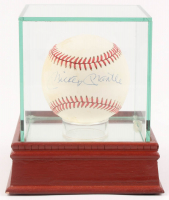 Mickey Mantle Signed OAL Baseball with Display Case (JSA Hologram) at PristineAuction.com