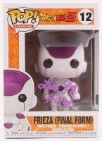 """Linda Young Signed """"Dragon Ball Z"""" #12 Frieza (Final Form) Funko Pop! Vinyl Figure Inscribed """"Frieza"""" (TriStar Hologram) at PristineAuction.com"""