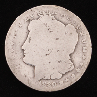1880 Morgan Silver Dollar CC at PristineAuction.com
